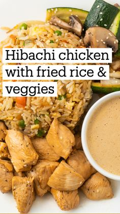 Easy Dinner Recipes, Easy Meals, Good Meals, Simple Chicken Recipes, Kitchen Recipes, Cooking Recipes, Hibachi Recipes, Hibachi Chicken, Asian Recipes