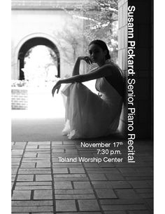 Senior Piano Recital Flyer by Timeless Design