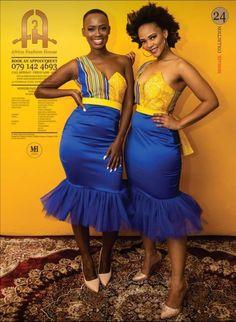 Venda Bridesmaids dresses Venda Traditional Attire, African Traditional Wear, Xhosa Attire, Bridesmaids, Bridesmaid Dresses, Traditional Wedding Dresses, Kitenge, Pedi, Ankara