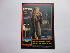 # 56 Close Encounter Of The Third Kind Cards From 1978