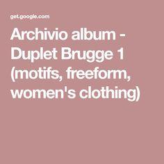 Archivio album - Duplet Brugge 1 (motifs, freeform, women's clothing)
