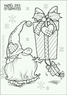 free scandinavian folk patterns coloring pages leaves Christmas Gnome, Christmas Colors, Christmas Art, Winter Christmas, Christmas Coloring Pages, Coloring Book Pages, Illustration Noel, Christmas Drawing, Christmas Embroidery