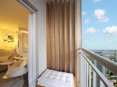 Terraço do apartamento decorado - Sublime Vila Prudente