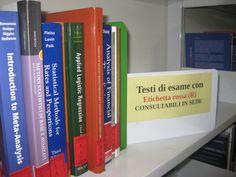 I testi di esami (DIDATTICI) con etichetta ROSSA sono consultabili solo in sede
