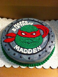 Ninja turtle cake- braxton bday