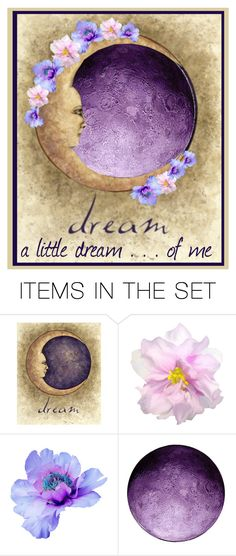 """""""Dreamer's Moon"""" by lois-boyce-flack ❤ liked on Polyvore featuring art"""