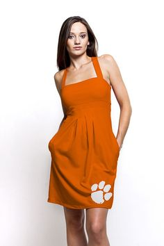 Clemson Tigers Game Day Dress, get it at TotallyCollegiate.com! On Sale Now!