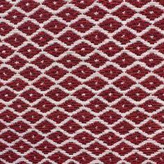 Tissu Jakarta petit losange ikat fuchsia x 10cm