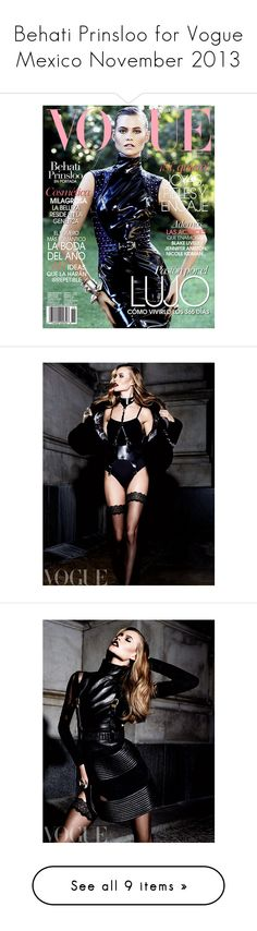 """""""Behati Prinsloo for Vogue Mexico November 2013"""" by merrygorounds ❤ liked on Polyvore"""