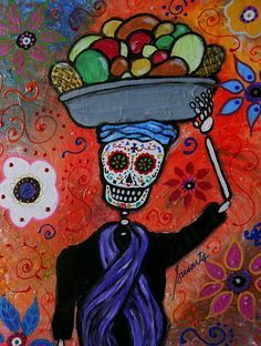 Day of the dead on Pinterest   Sugar Skull, Day Of Dead and Skeletons