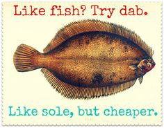 Money-saving tip for the week? If you like fish, try DAB.