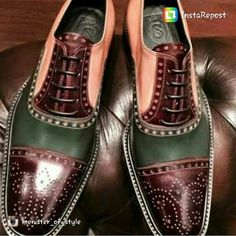 Handmade men three tone shoes, men brogue toe dress shoes, leather shoes mens – Men's style, accessories, mens fashion trends 2020 Derby, Hot Shoes, Men S Shoes, Formal Shoes, Casual Shoes, Dress Formal, Men Casual, Casual Outfits, Shoes Brown