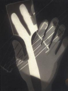 Laszlo Moholy-Nagy. (1895-1946). Photogram. 1926