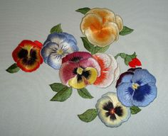 Reader's Embroidery: Japanese Embroidery – Pansies! – Needle'nThread.com