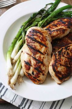 Grilled Chicken Breasts with Buttermilk Marinade | Recipe | Grilled ...