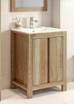 Bathroom Vanity Unit 600mm 60cm Floor Standing Sink Cabinet & Basin Classic Oak · $179.95 Oak Bathroom, Bathroom Sink Cabinets, Bathroom Vanity Units, Small Bathroom Vanities, Vanity Sink, Bathroom Inspo, Master Bathroom, Bathroom Ideas, Vanity Units Uk