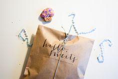 Free Printable: Sweet Treat Bags | Hey Love Designs #free #DIY #parties #weddings #showers #candy #sweets #treats #favors #printable