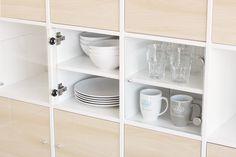 104 best kallax regal pimps images on pinterest. Black Bedroom Furniture Sets. Home Design Ideas