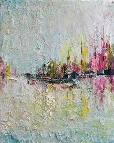 Impresión impresión del arte poster Resumen pintura al óleo moderna contemporánea espátula