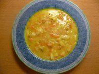 drožďová se zeleninou a kapáním(koř.zelenina,krupice,česnek)