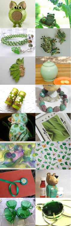 The Greens Have It -Tempt Team by Carol on Etsy--Pinned+with+TreasuryPin.com