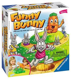 Ravensburger Funny Bunny  Childrens Game >>> Read more reviews of the product by visiting the link on the image. Note:It is Affiliate Link to Amazon.