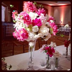 Wedding Centerpieces On Pinterest All White Head Tables