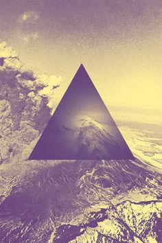 tumblr m8wwn8Etks1rs2t0oo1 500 Blue And Purple Hipster Triangle Pattern Tumblr Background image