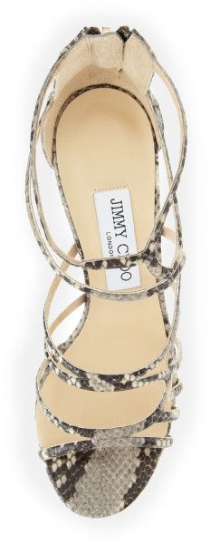 Love this: Summit Snakeprint Strappy Sandal @Lyst