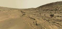 Planète Mars : la sonde Curiosity photographie des fossiles - Mars