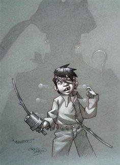 by Craig Davison * Comic Books Art, Comic Art, Book Art, Character Illustration, Illustration Art, Superhero Kids, Shadow Play, Nerd Love, Fantasy Images