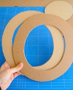 como hacer sombrero de carton