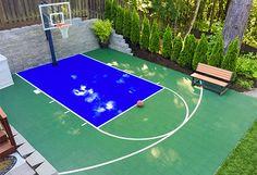 20' x 25' Basketball Court