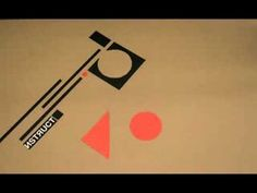 constructivism art (typography in motion)