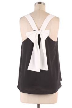 bow back top  #swoonboutique