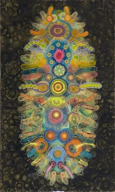 Vertical Labyrinth Chakra by Bruce Riley / Sacred Geometry <3