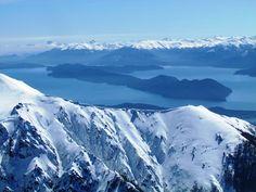 Cerro Catedral - Vista do Lago Nahuel Huape - Bariloche - Viagem com Sabor