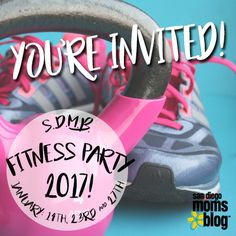 We are so excited for our Fitness Party 2017! Take a look at all the fitness events we have lined up for January and tag some friends you want to get your sweat on with!