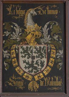 Pierre Coustain, Pieter Coustens (1420-1491/1502). van de Lannoy, Baudouin, heer van Molembaix