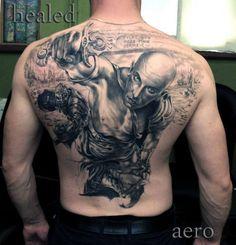 Tattoo-Foto: Der Krieger