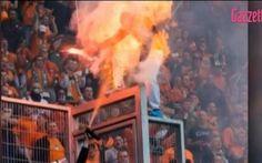 Video Tifoso Prende Fuoco E Diventa Una Torcia Umana Dopo Uno Scontro Con La Polizia #ultras #fuoco #polizia