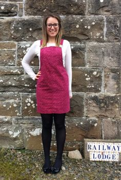 One Stitch Closer to a Handmade Wardrobe Dungaree Dress, Dungarees, Denim Overalls, Shorts, Sewing Blogs, Sewing Projects, Pinafore Dress Pattern, Diy Fashion, Fashion Outfits