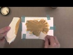 A Video by Jennifer McGuire using Dies for Stencils for Simon Says Stamps Summer School Series! June 2013