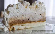 Domaći Kuhar - Deserti i Slana jela: Sladoled torta Torte Recepti, Kolaci I Torte, Torta Recipe, Baking Recipes, Dessert Recipes, Serbian Recipes, Serbian Food, Torte Cake, Crepe Cake