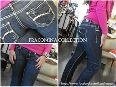 FRACOMINA Jeans (98% Cotton and 2% Spandex)