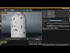Creating Animated Water Droplets On A Bottle In Cinema 4D, X-Particles, and Arnold Render - YouTube
