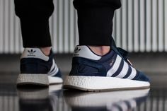 adidas iniki runner blue 3 On Foot: adidas INIKI Runner (Red & Collegiate Navy) eukicks Adidas Iniki Runner, Sneaker Magazine, Retro, Classic Looks, Business Casual, Adidas Originals, Sportswear, Adidas Sneakers, Kicks