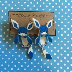 https://www.etsy.com/es/listing/246088393/glaceon-eeveelution-cute-clinging-fake?ref=shop_home_active_12 Glaceon Eeveelution Cute Clinging Fake Gauge Earring