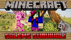 Minecraft PC: Salems Survival! [59] Gary and the Creeper Mom!?
