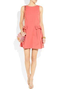 RED VALENTINO  Stretch-twill dress
